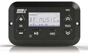 SSV Works MRB3 Panel Mount Bluetooth Media Controller W/ LCD Display