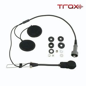 PCI Race Radios Trax Stereo Open Face Helmet Wiring Kit