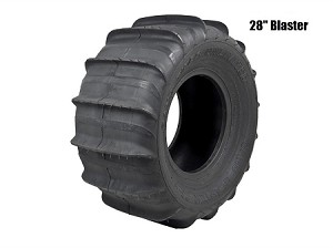 "Sand Tires Unlimited STU 28"" Blaster Rear Paddle Tire- Pair"