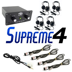 "PCI Race Radios Supreme 4 Seat ""In Car"" Package"