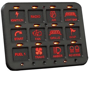 Switch Pros RCR-Force Bluetooth 12-Switch Panel System